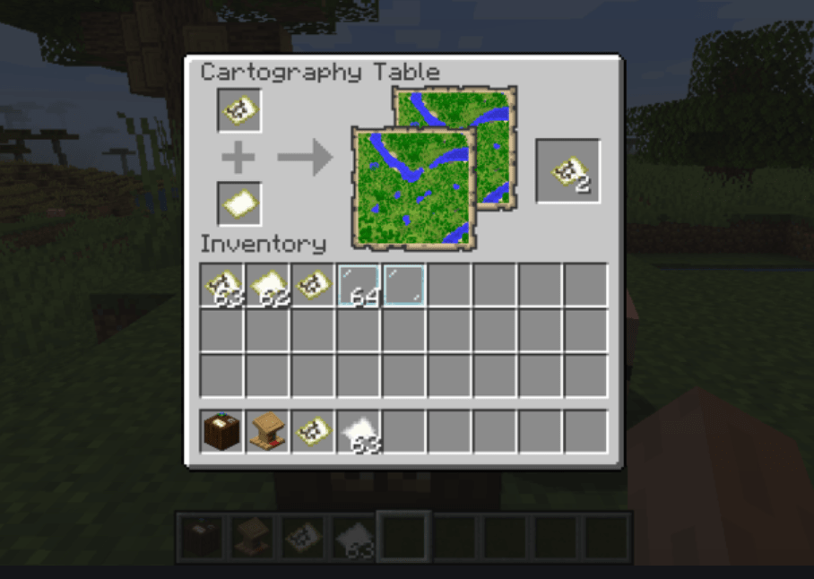 Minecraft Cartography