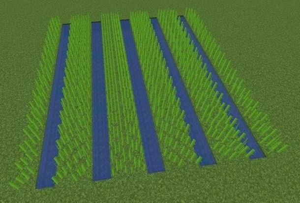 semi-automatic farm